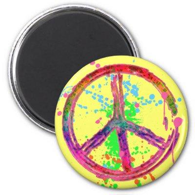 Peace Sign Splatter