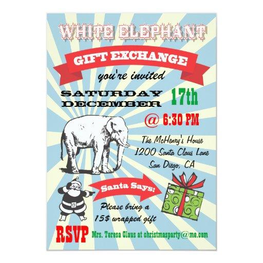 white elephant gift clipart free - photo #48
