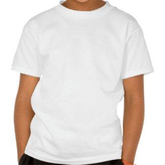 Rhino with Umbrella on Unicycle Children T-Shirt shirt