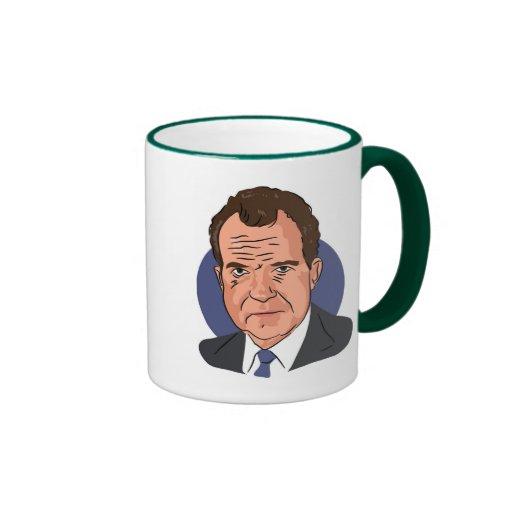 Nixons Coffee Mail: Richard Nixon Coffee Mug
