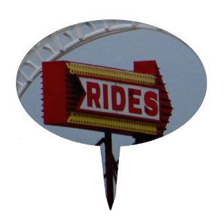 Roller Coaster Cake Topper
