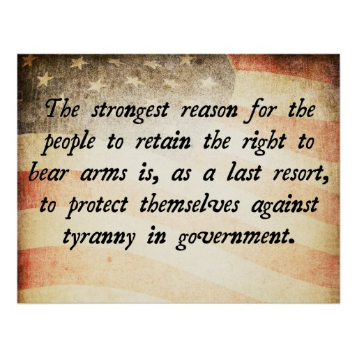 Essay/Term paper: The second amendment and the right to bear arms