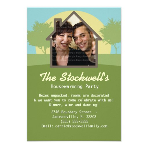 House Warming Party Invitations Template Free