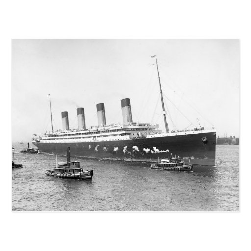 Rms Olympic: RMS Olympic, 1911 Postcard