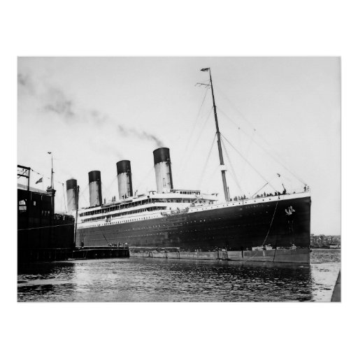 Rms Olympic: RMS Olympic Poster