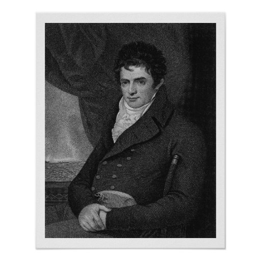 Robert Fulton Quotes: Robert Fulton (1765-1815), Engraved By George Park Poster