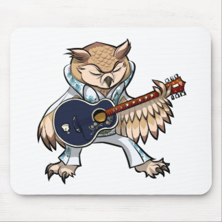 owl playing the guitar - photo #12