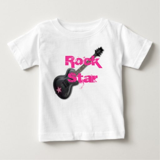 rock star baby rock star baby t shirt zazzle. Black Bedroom Furniture Sets. Home Design Ideas