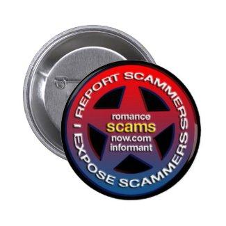 Romance Scams Now™ Informant Badge