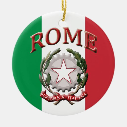 Rome Italy Christmas Tree Ornament