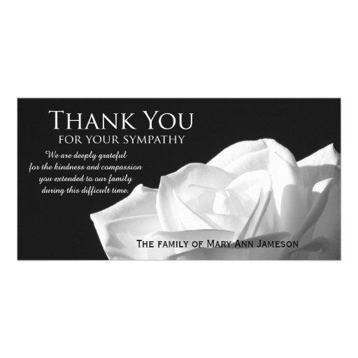 Condolence Thank You Cards, Condolence Thank You Card Templates ...