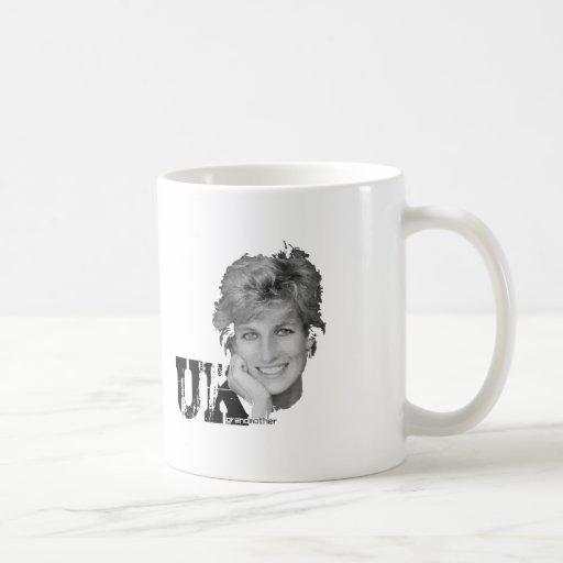 Royal Baby - Diana Princess Classic White Coffee Mug