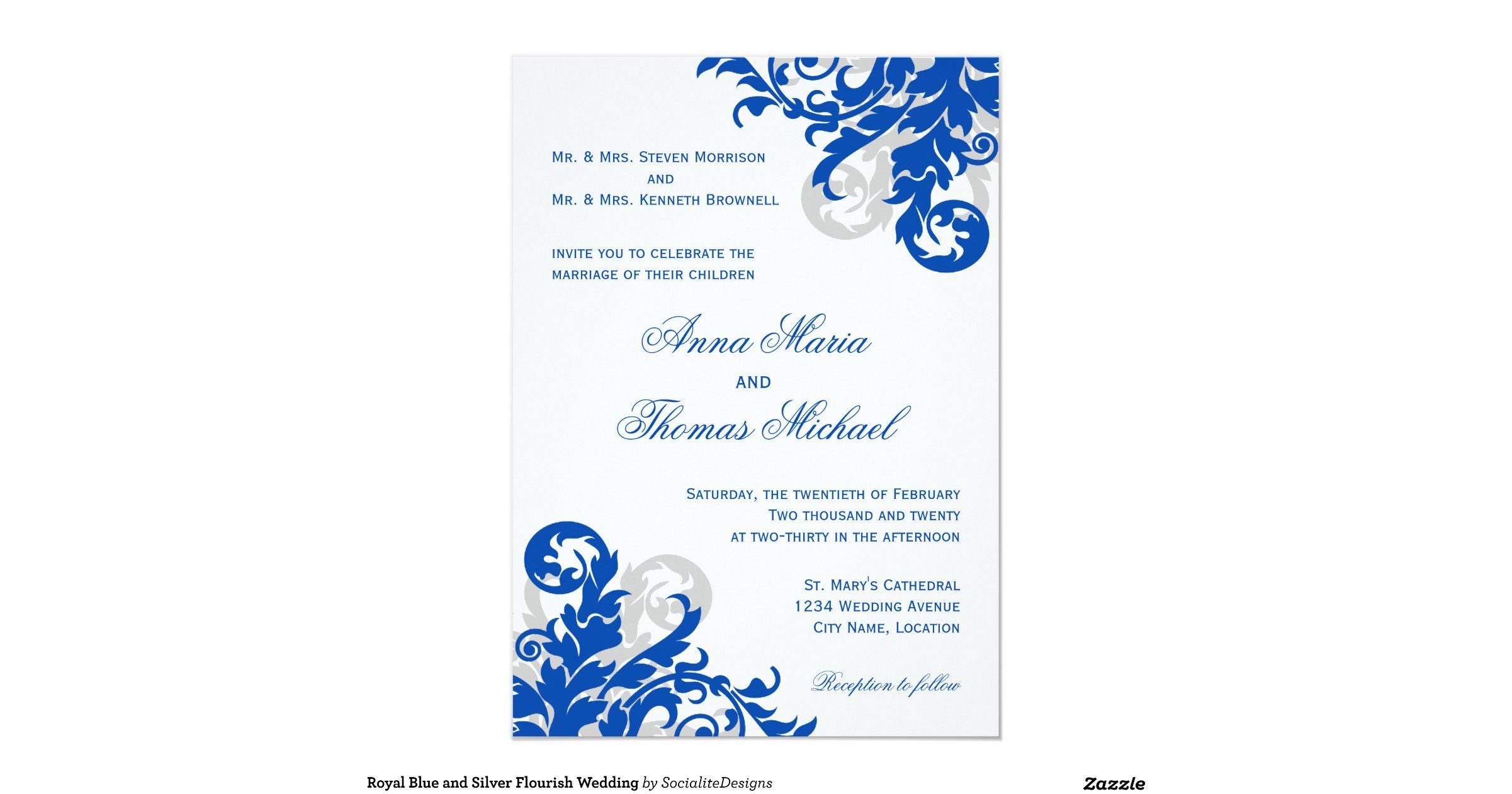 royal_blue_and_silver_flourish_wedding_invitation ...