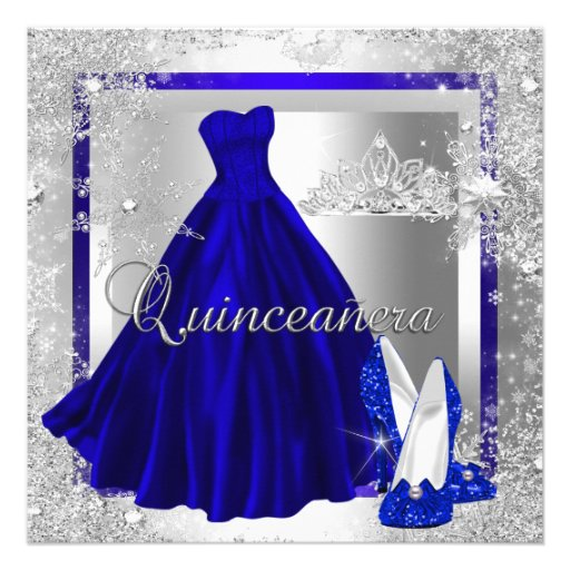Royal Blue And Silver Quinceanera Decorations Traffic Club