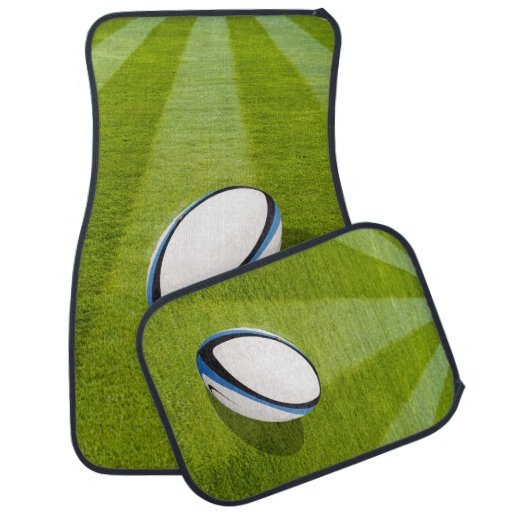 Rugby Car Mats Full Set (set Of 4)