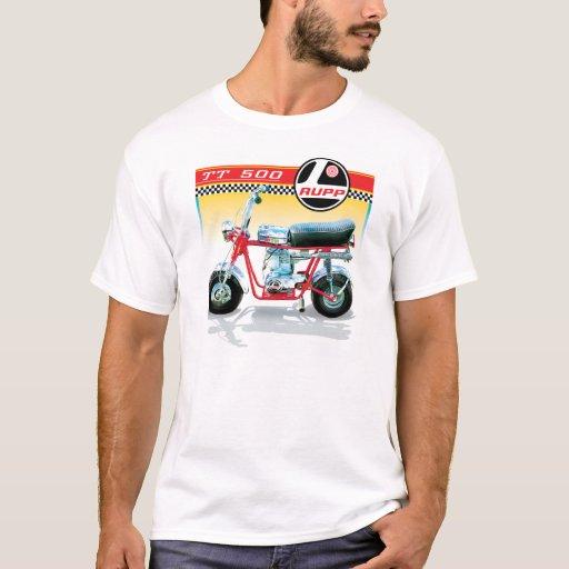 Rupp Tt500 Mini Bike T Shirt Zazzle