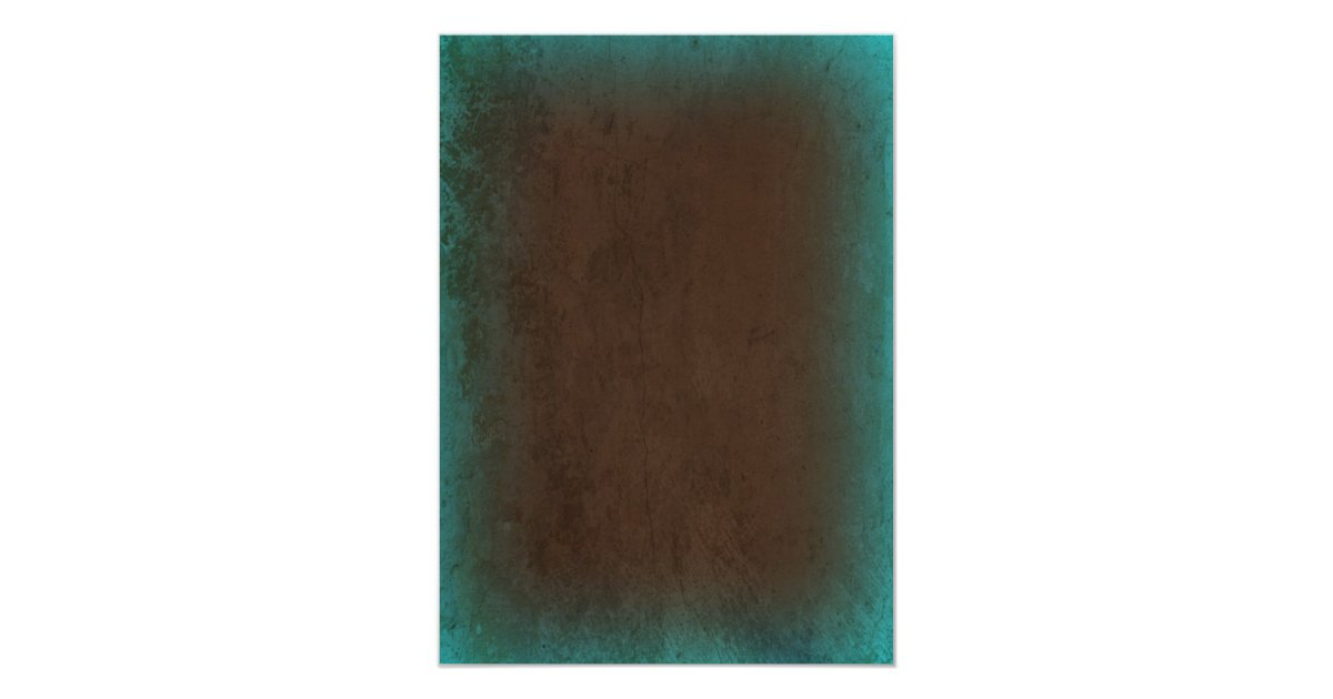 Turquoise And Brown Wedding Invitations: Rustic Country Turquoise Brown Wedding Invitations