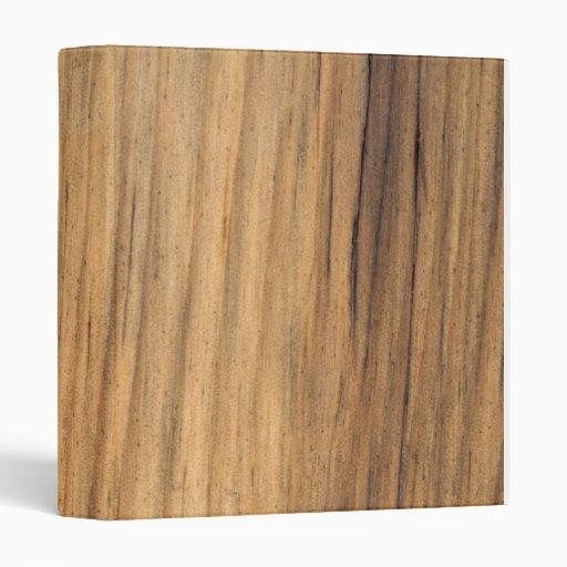 Rustic Faux Barn Wood 3 Ring Binder