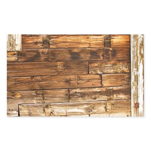 Rustic Old Colorado Barn Door And Window Rectangular