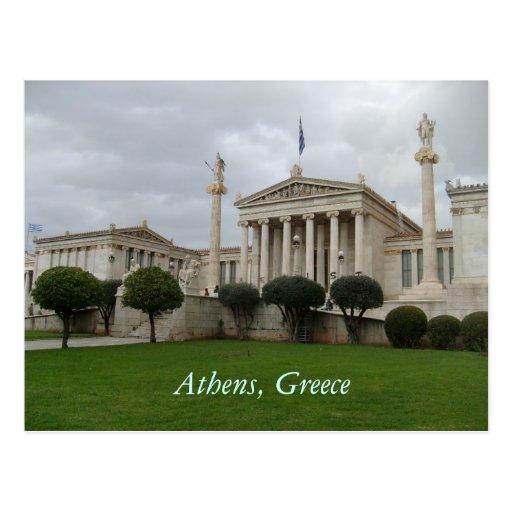 Greece Postcards & Postcard Template Designs