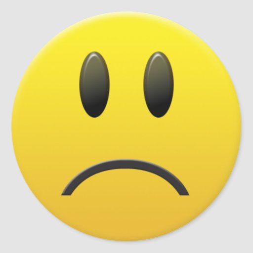 Sad Face Emoticon Cake Ideas and Designs