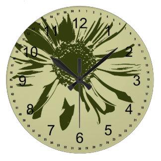 Sage Green Wall Clocks Zazzle