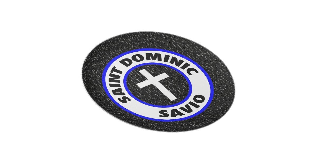 Saint dominic savio plate zazzle for Saint dominic savio coloring page