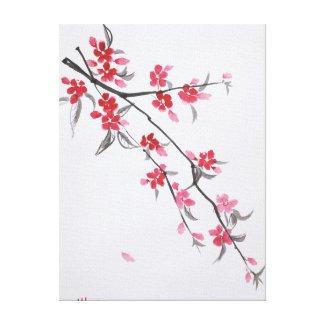Sakura Gallery Wrap Canvas