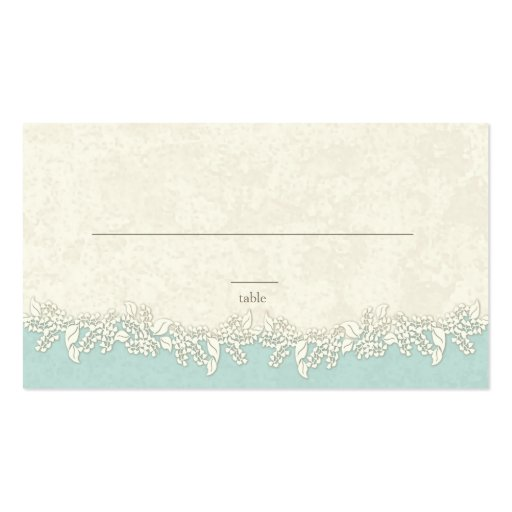Sand and stars beach theme place cards double sided for Double sided place card template