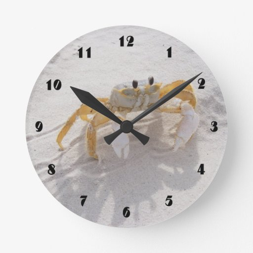beach decor clocks beach decor wall clock designs. Black Bedroom Furniture Sets. Home Design Ideas