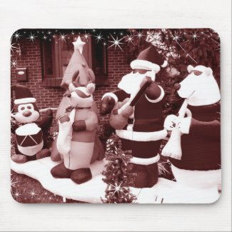 Santa and Friends mousepad
