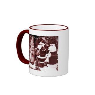 Santa and Friends mug