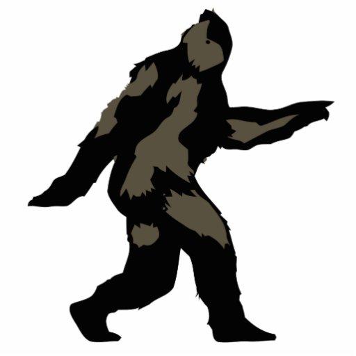 bigfoot outline - photo #10