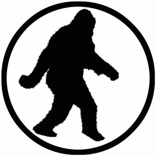 bigfoot outline - photo #7