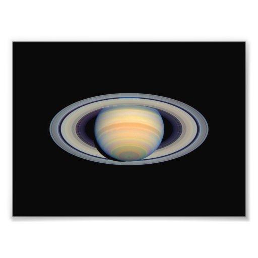 Saturn (Hubble Telescope) Photograph   Zazzle