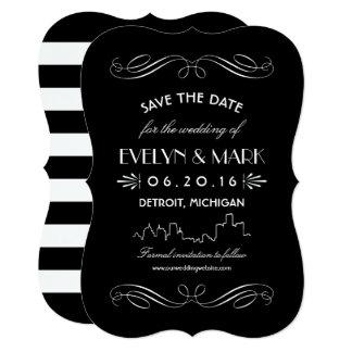 art deco wedding save the date invitations announcements zazzle. Black Bedroom Furniture Sets. Home Design Ideas