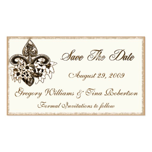 business save the date templates free - save the date enclosure card template double sided
