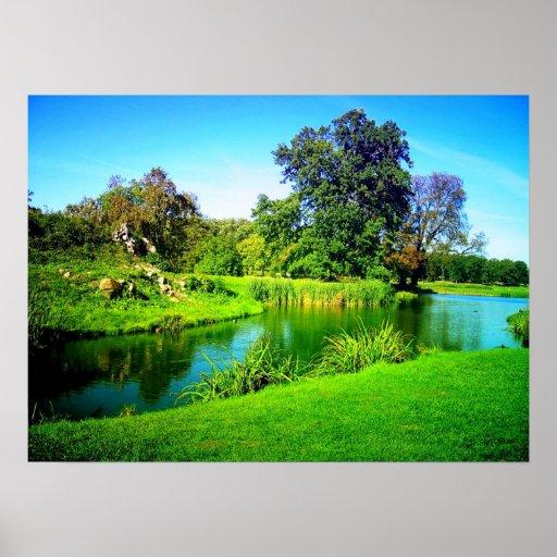 Beautiful Nature Image: Scenic Beauty Of Nature Poster