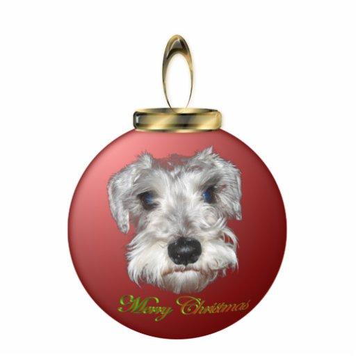 Schnauzer Christmas Ornament | Zazzle