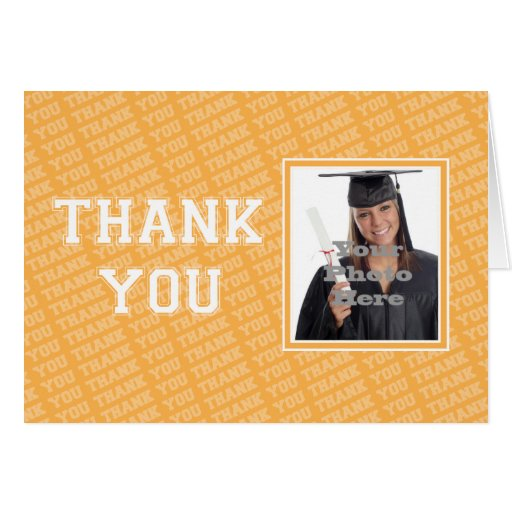 Executive College Stationery Note Cards: School Colors Thank You Note Stationery Note Card