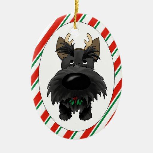 Scottish Terrier Christmas Ornament | Zazzle