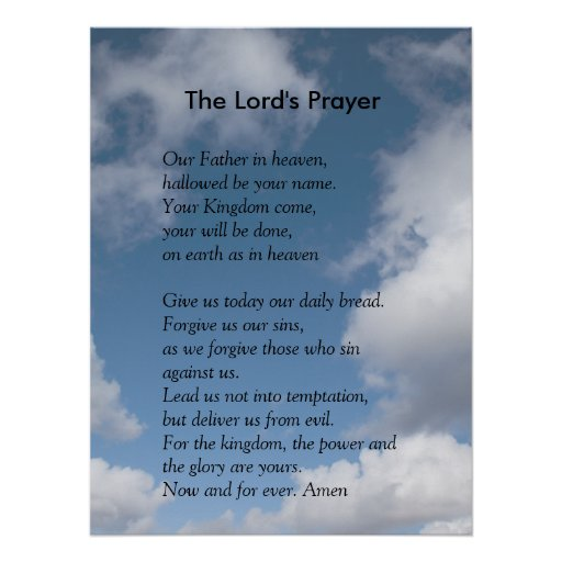the lords prayer iphone - photo #29