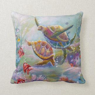 Sea Turtle Pillows Sea Turtle Throw Pillows
