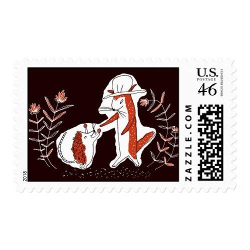秘密の宝石 stamp