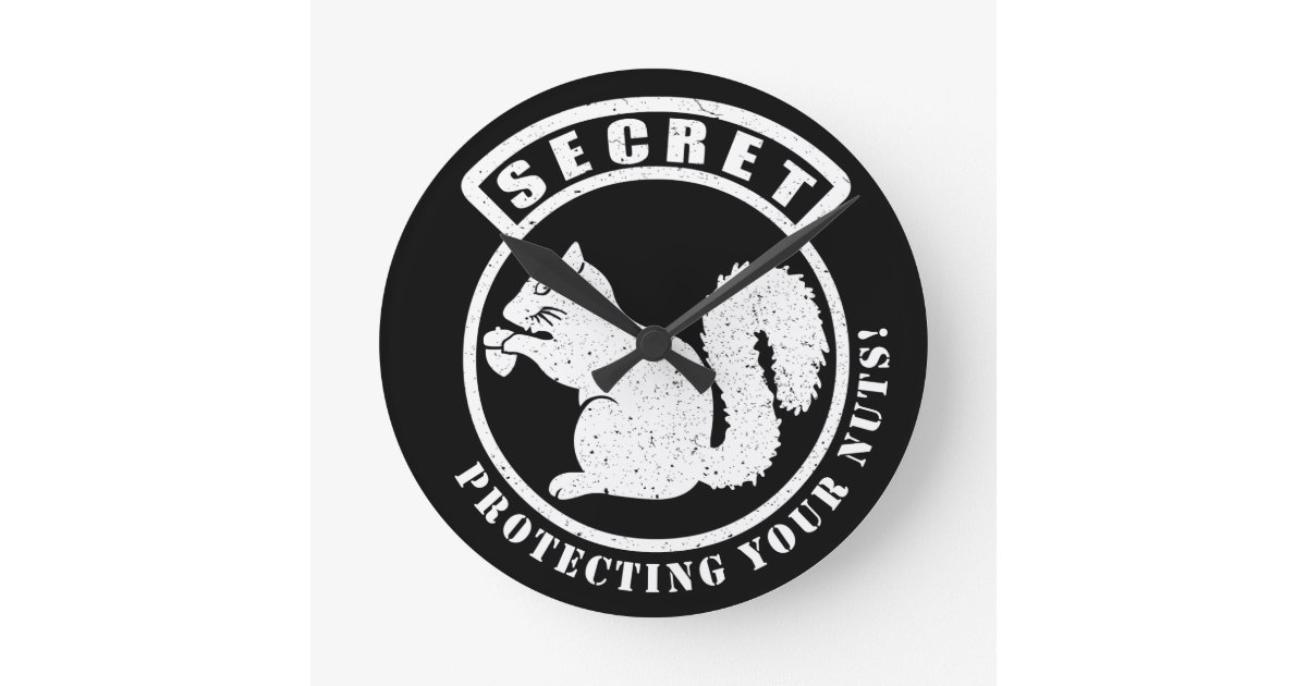 Secret Squirrel Protect Your Nuts Patch