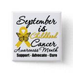 September is Childhood cancer Awareness Month v2 button
