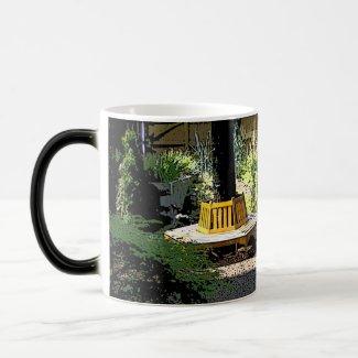 Serene and Peaceful Garden mug