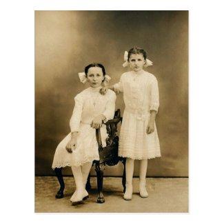 Severa & Catherine LAHR, circa 1910