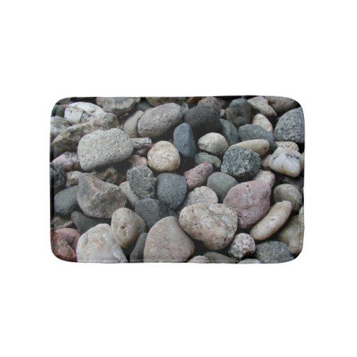River Rock Kitchen: Shades Of Grey River Rock Memory Foam Kitchen Rug Bath