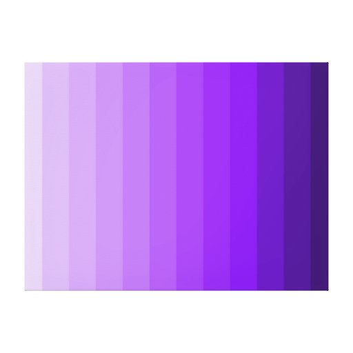 Shades of purple ombre gradient modern wall art canvas - Purple ombre wall ...